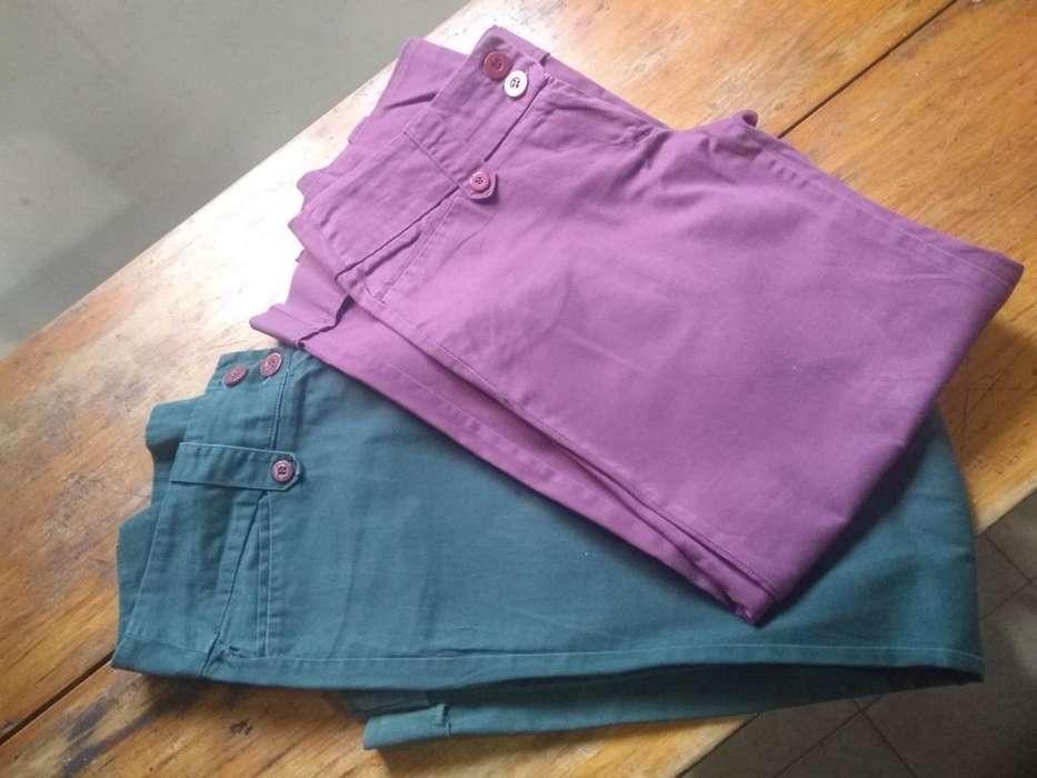 Pantalones de Gabardina T46