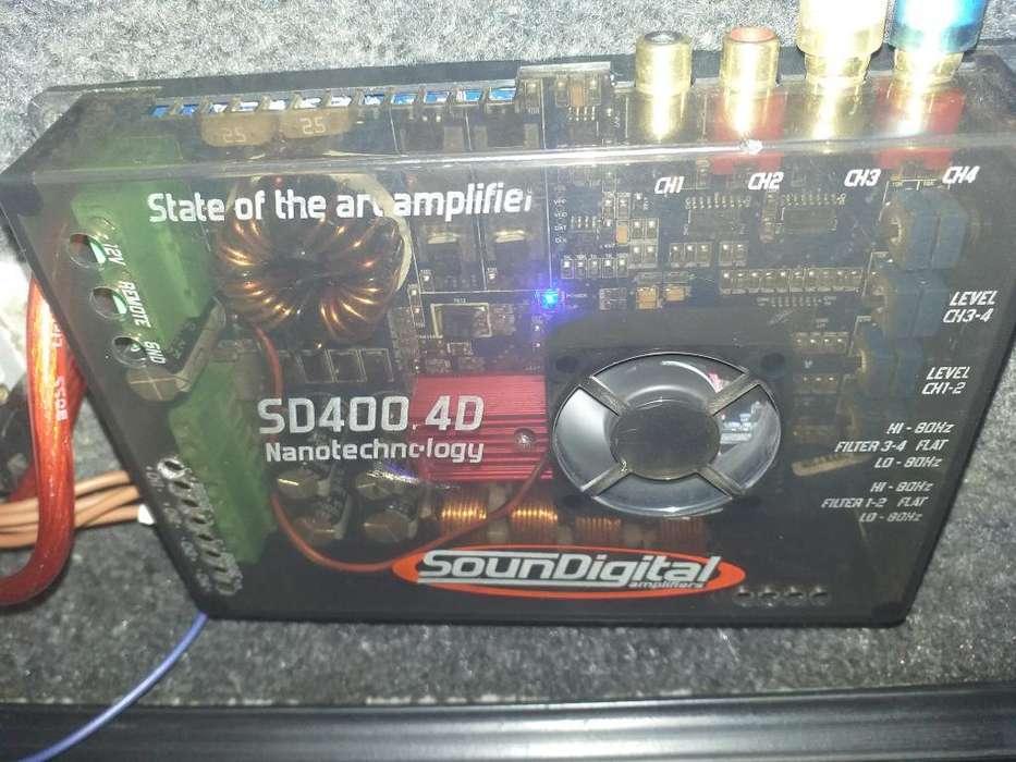 Potencia Soundigital Sd400.4d 400rms