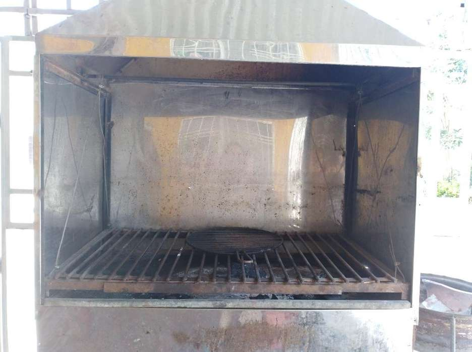 Cocina Industrial Y Asador en Acero Inox
