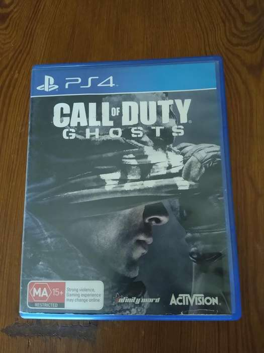 vendo Call Of Duty Ghosts Impecable