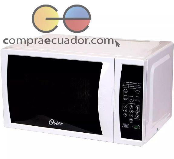 Oster Horno Microondas 0.7 Pies 20 Litros 700 Watts Blanco