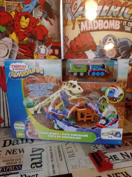 Thomas & Friends Pista Dino-blast