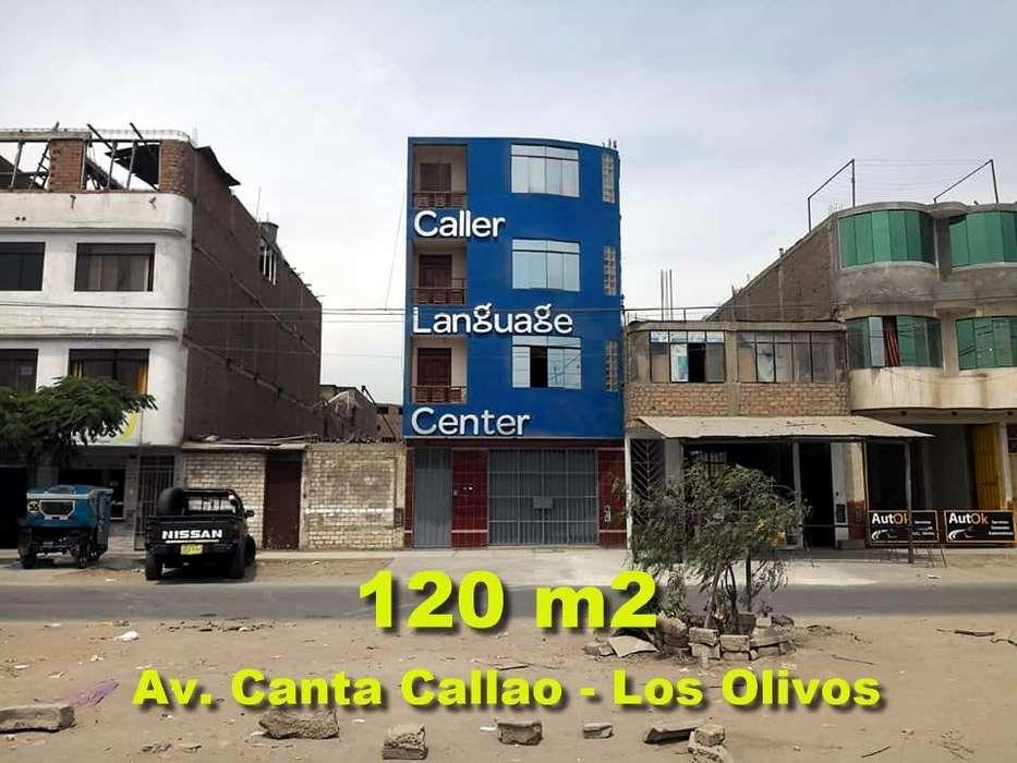 OCASIÓN VENDO CASA COMERCIAL DE 120 M2 EN AV CANTA CALLAO EN LOS OLIVOS