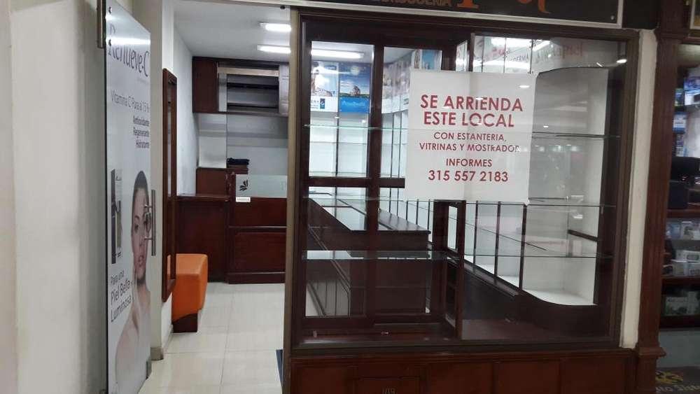 VENDO O ARRIENDO <strong>local</strong> COMERCIAL EN EL CENTRO DE PASTO - C.C. ZAGUAN DEL LAGO