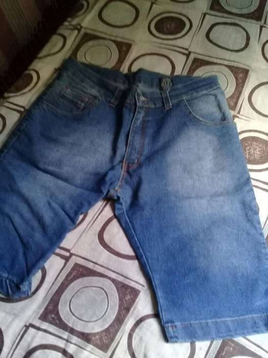 Pantalon Bermuda Vaquera