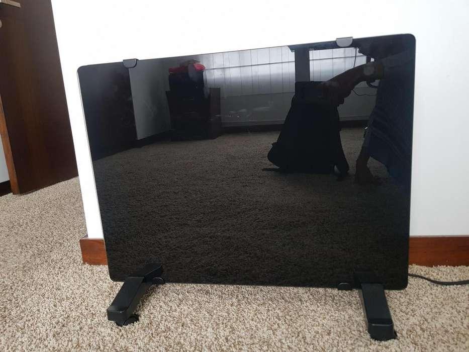 Calefactor sin uso Lindo diseo Vidrio templado y pantalla digital