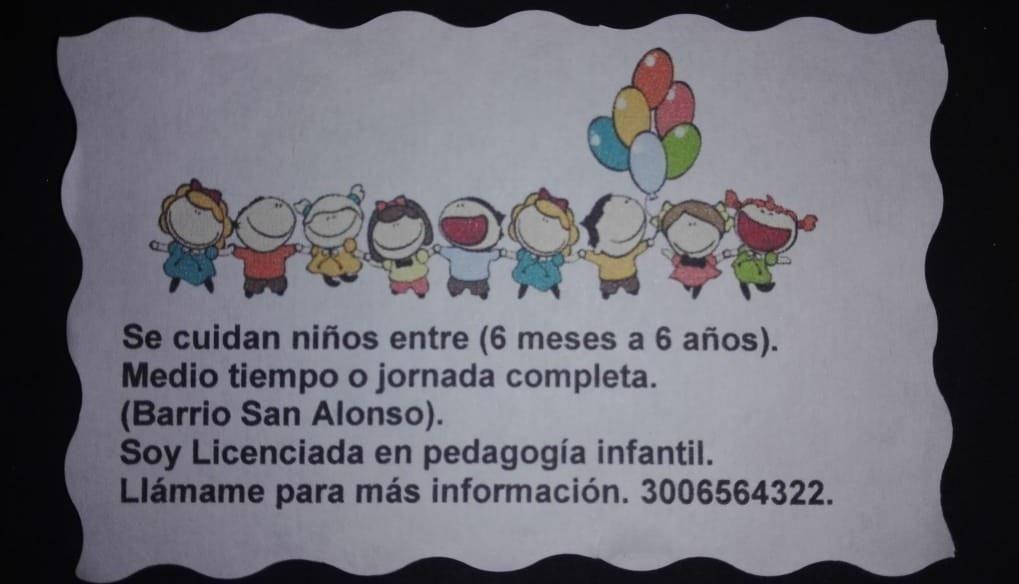 Cuidado de Niños de 6 meses a 6 años