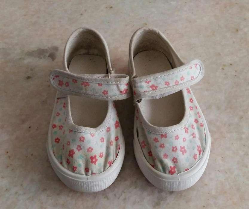 Guillerminas zapatos alpargatas nena talle 22 Yamp Falabella