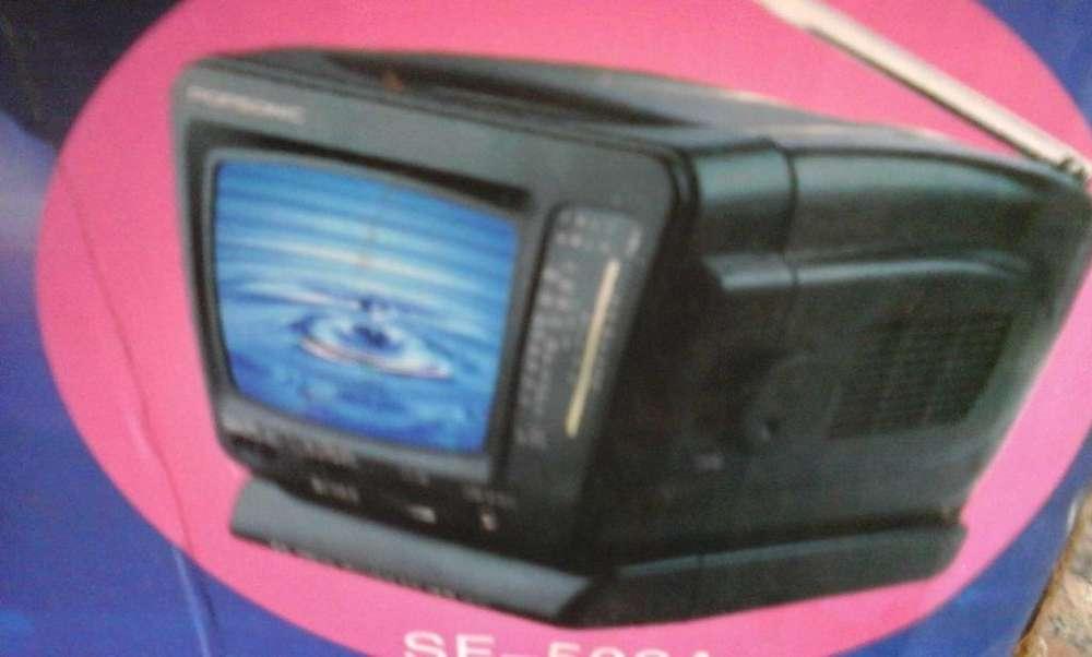 TELEVISOR/RADIO DE VIAJE