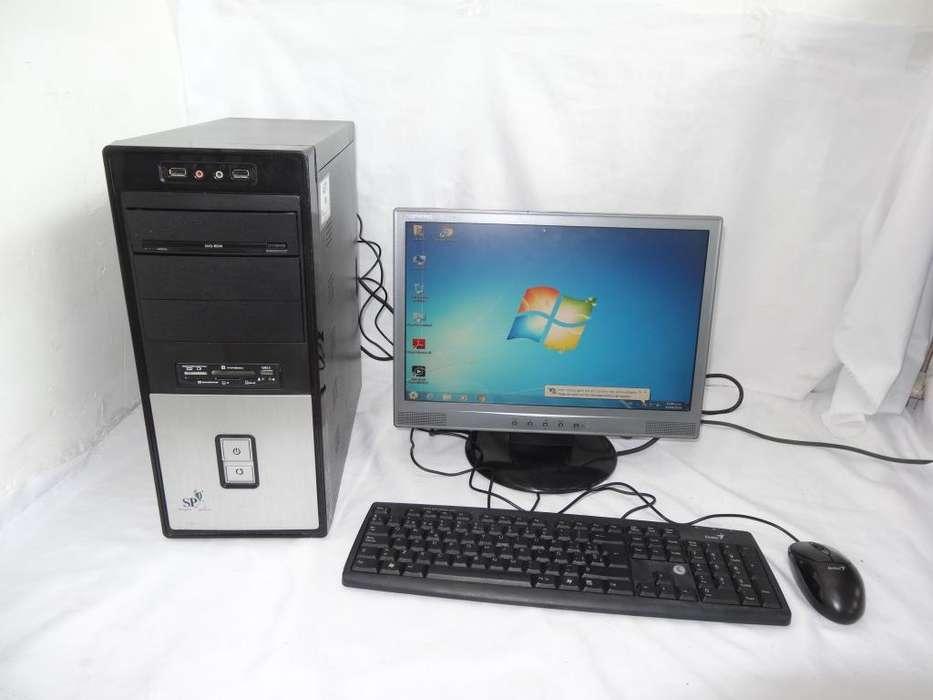 computador de mesa super power DD- 320GB RAM 2GB COMPLETO