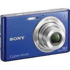 Camara Sony Cybershot ázul 14.1 megapixeles
