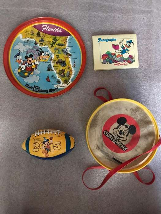 Objetos Retro Disney Originales