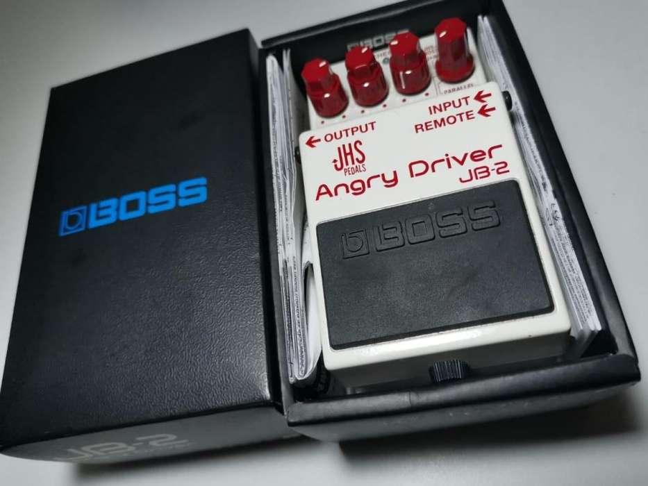 Pedal de guitarra Boss JHS Angry Driver overdrive dual