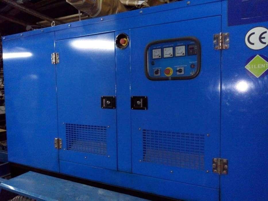 Generador Eléctrico 125 Kva Logus 125 Br Silent Como Nuevo!! Cabinado, con Trailer o sin Trailer