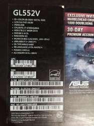Asus ROG GL552VW Core I7 -6700HQ SSD 128Gb & HDD 1Tb Nvidia GTX960M Ram 8Gb FHD 15.6''