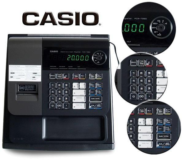 Registradora Alfanumerica Casio Nueva