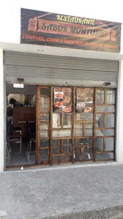 Vendo bonito y elegante restaurante recién instalado. Sector Velasco
