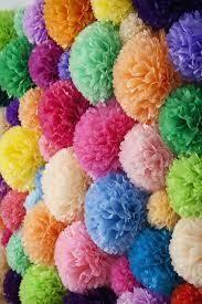 Pompones para Decoración