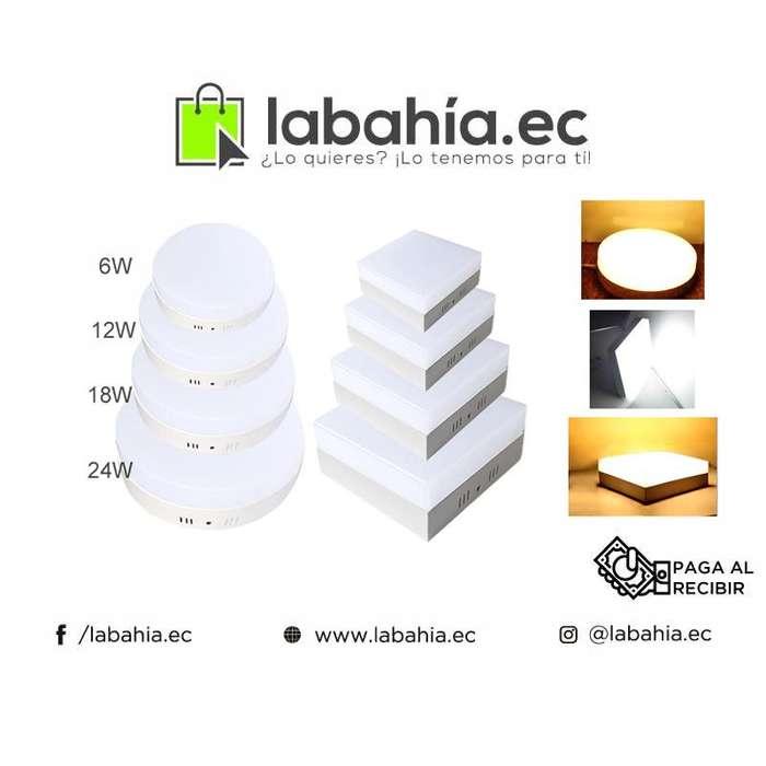 Paneles Focos Led Luz Blanca o Calida Alto rendimiento y Bajo Consumo