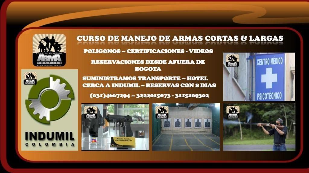 CURSO Y VÍDEO MANEJO DE ARMAS