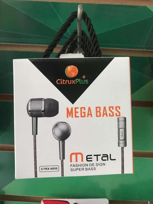 manos libres Mega Bass