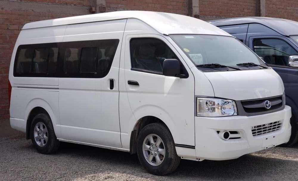 Minibus JOYLONG A4 17 Asientos Motor 2.5L Turbo Diesel Intercoler :: Entrega Inmediata :: Nuevo Lanzamiento