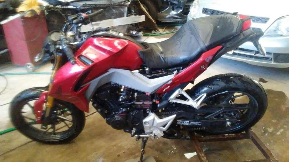 <strong>honda</strong> CB 190 R BAJA CON ALTA DE MOTOR