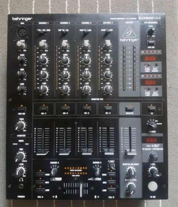Behringer Mixer Djx900Usb