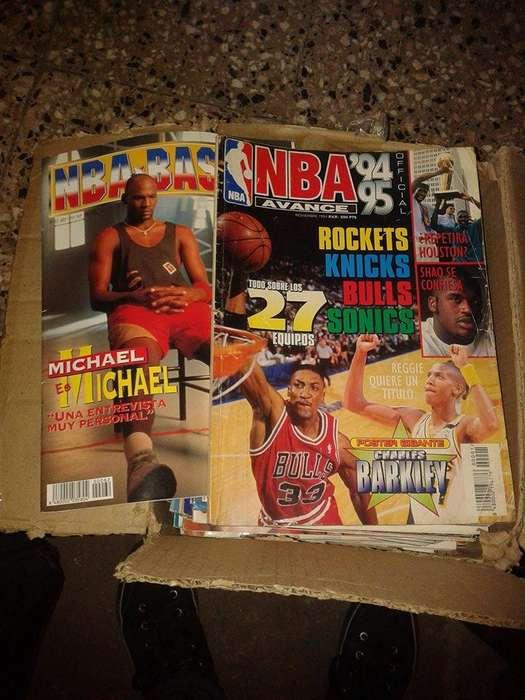 Revistas De La NBA 30 c/u