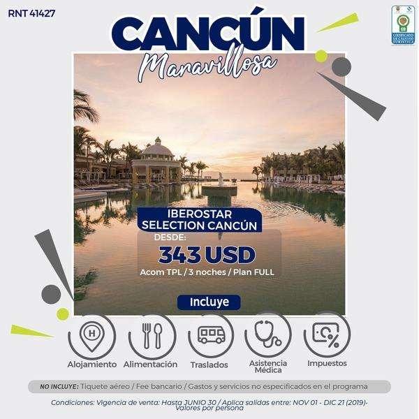 CANCUN MARAVILLOSO 3 NOCHES DESDE 1.200.000 SIN TIQUETES WWW WEBAVIAJAR COM 305 3263880