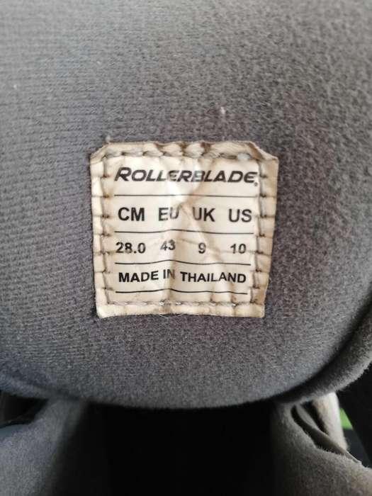 Vendo patines ROLLERBLADE buen estado 300300