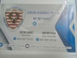 Servicios en Seguridad Privada