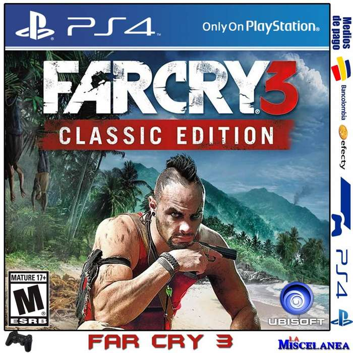Far Cry 3 Classic Edition Ps4 Original