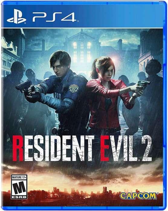 Resident Evil 2 - Playstation 4 - Juego Físico Sellado