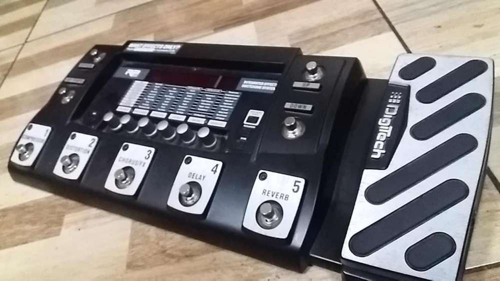 Pedalera Multiefectos Para Guitarra Digitech Rp500 (negociable para hoy)