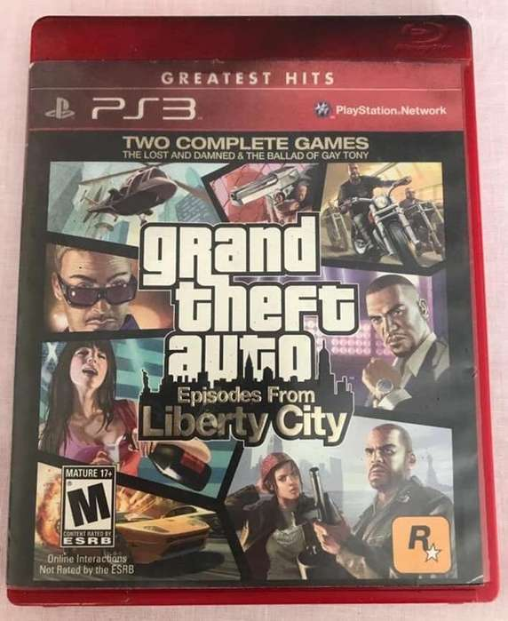 Play 3 Gta Liberty City
