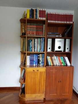 Bibliotecas Madera Anuncios De Muebles En Venta En Bogotá