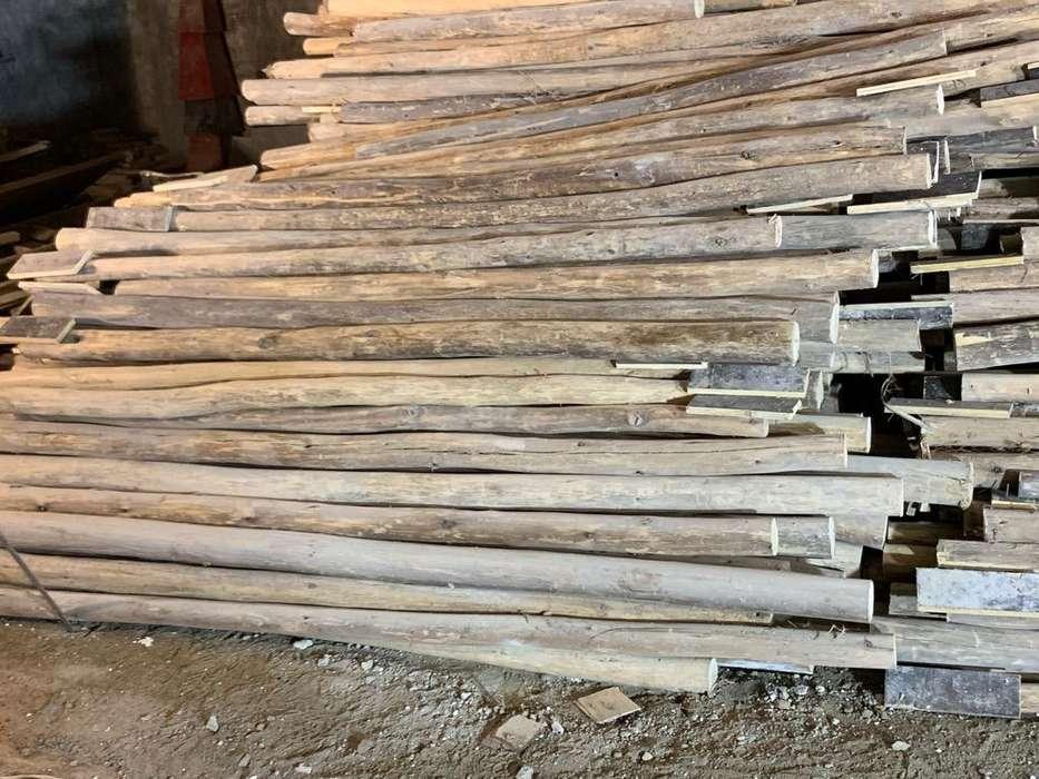 Puntales de Eucalipto de 3 metros x 3,4