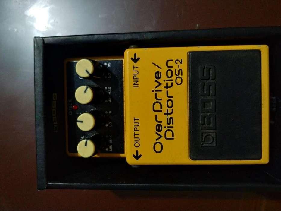 Overdrive/distorsión Os-2 Boss Guitarra