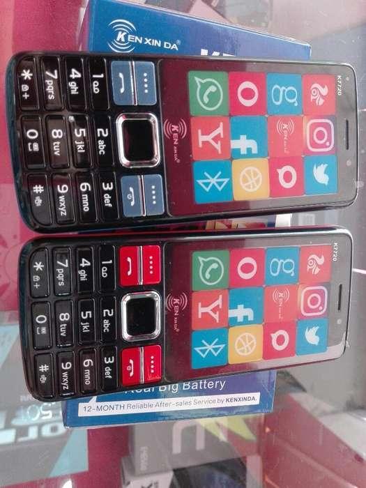 Celular Doble Sim Batería Dura 4dias