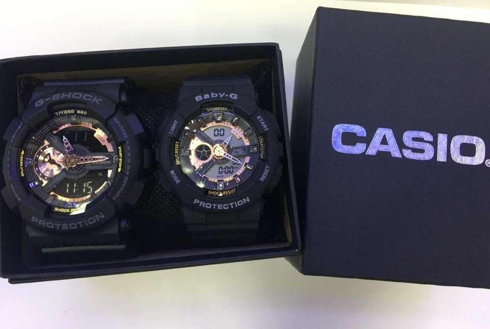 Reloj Casio Pareja G Shock Y Baby G Ne.c