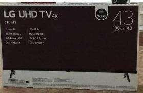 lg smart tv 43 4k Nuevas de Paquete
