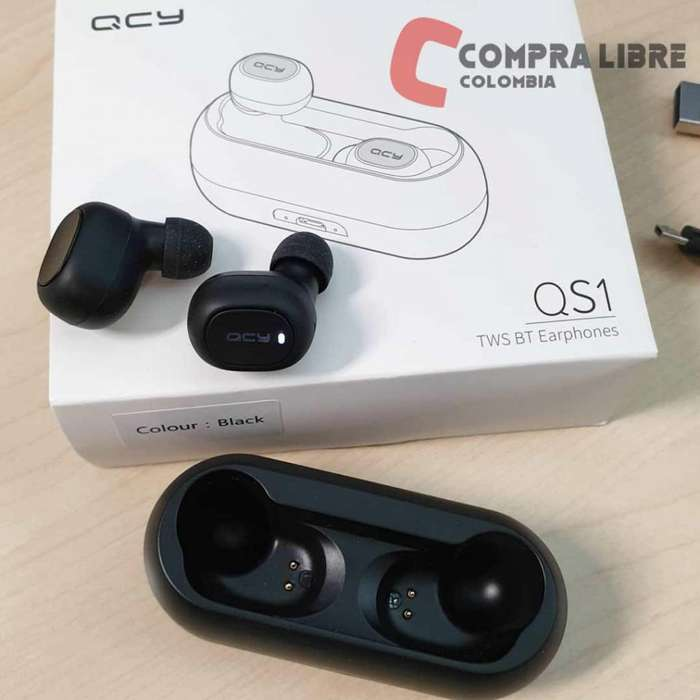 audifonos bluetooth de alta calidad qcy qs1