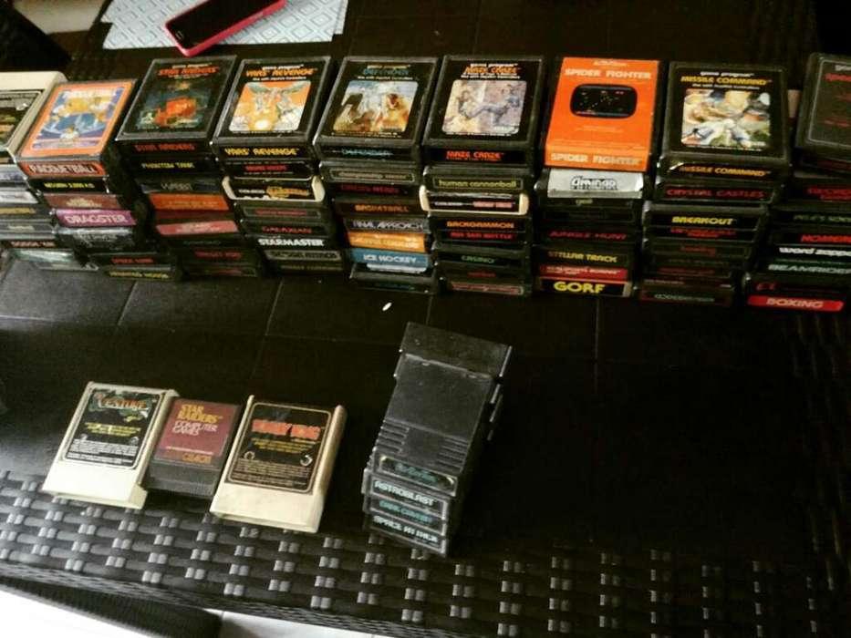 Atari Juegos Consola Coleccionistas Game CARTUCHOS ATARI 2600 X UNIDAD