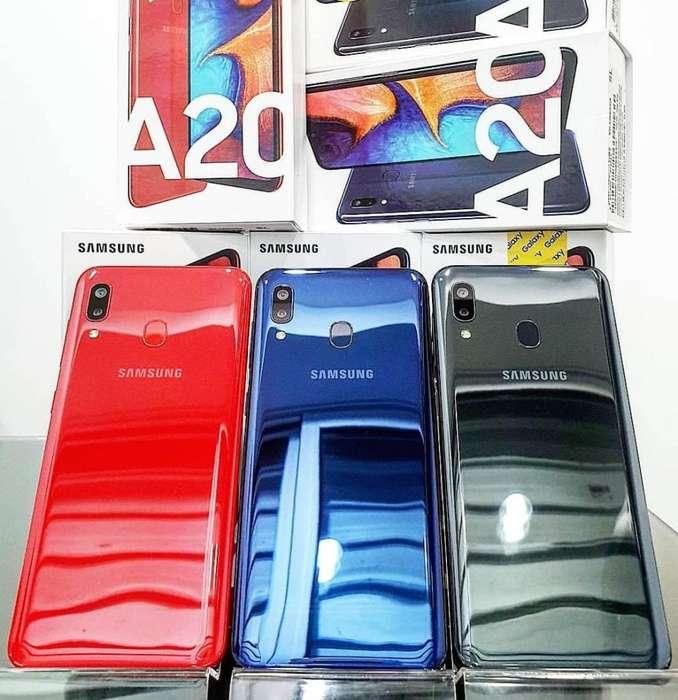 <strong>samsung</strong> A20 32GB Nuevos Sellados Garantía