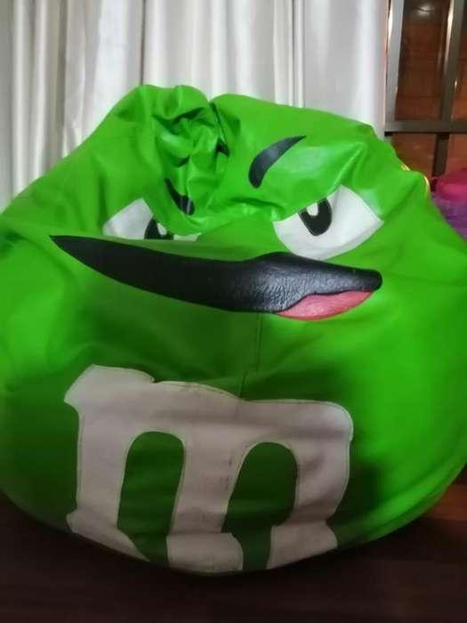 Puff M&m Verde