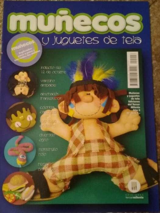 Muñecos Y Juguetes de Tela Año 3 N26