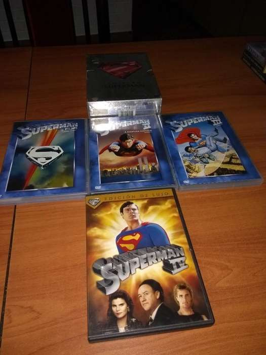 Superman Dvd Originales