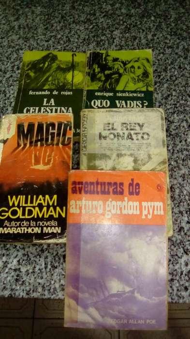 Combo de 5 libros