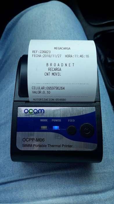 <strong>impresora</strong> Termica Bluetooth Y Usb 58mm